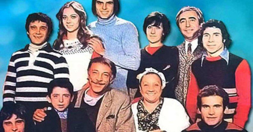 kalabalık aile nostalji